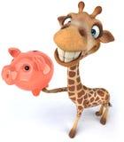 Giraffa di divertimento Fotografie Stock