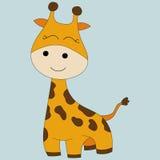 Giraffa sveglia Immagine Stock Libera da Diritti