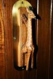 Giraffe λαβή στοκ εικόνα
