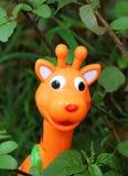 Giraffe παιχνίδι Στοκ φωτογραφία με δικαίωμα ελεύθερης χρήσης