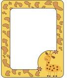 giraffe рамки Стоковое фото RF