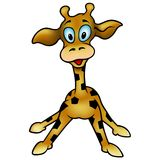 Giraffe 07. High detailed and coloured vector illustration stock illustration