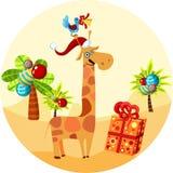 Giraffe ilustração do vetor