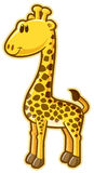 Giraffe. Vector without gradients, great for printing Royalty Free Stock Images