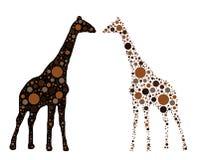 giraffe διανυσματική απεικόνιση