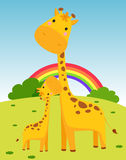 Giraffe vektor abbildung