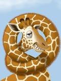giraffe Lizenzfreie Abbildung