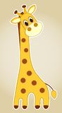 Giraffe application. Royalty Free Stock Photos