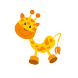 Giraffe baby toy Royalty Free Stock Photo