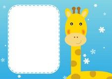 Giraffe background Stock Image