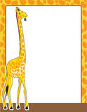 Giraffe Border Stock Photo