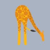 Giraffe Bottom. Royalty Free Stock Photography