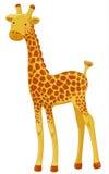 Giraffe cartoon character Stock Image