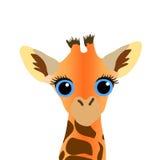 Giraffe. Cartoon Character. Vector Royalty Free Stock Photos