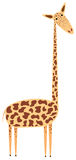 Giraffe cartoon Stock Photography