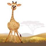 Giraffe cartoon Royalty Free Stock Photo