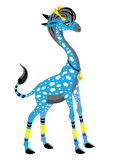 Giraffe with clouds Royalty Free Stock Photo