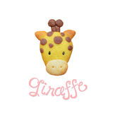 Giraffe cookies Royalty Free Stock Photos