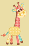 Giraffe d'application. Images stock