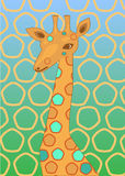 Giraffe d'endroit Photo stock