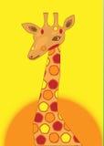 Giraffe d'endroit illustration libre de droits