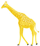 Giraffe de dessin animé. illustration stock