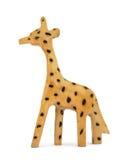Giraffe de madeira do brinquedo Fotografia de Stock