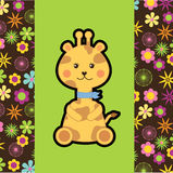 Giraffe design Stock Image