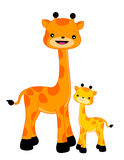 Giraffe/giraffes illustration de vecteur