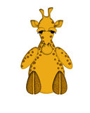Giraffe Illustration Royalty Free Stock Images