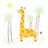 Giraffe illustration Stock Image
