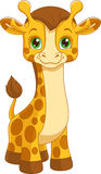 Giraffe. Illustration of little cute giraffe toy vector illustration