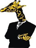 Giraffe man Royalty Free Stock Photos