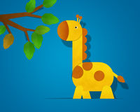 Giraffe Paper Clipart Stock Photos