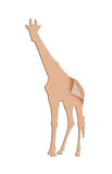 Giraffe shape paper box Royalty Free Stock Photo