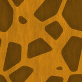 Giraffe Skin Print Royalty Free Stock Photos
