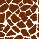 Giraffe skin vektor pattern Royalty Free Stock Photo
