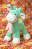 giraffe soft toy Royaltyfri Bild