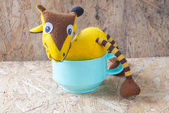 Giraffe soft toy Stock Photography