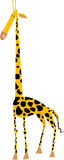 Giraffe (stylized). Illustration of a stylized giraffe Royalty Free Stock Image