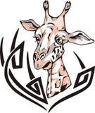 Giraffe tattoo Royalty Free Stock Photo