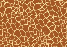 Giraffe texture pattern seamless repeating brown burgundy white safari zoo jungle print. Pattern wallpaper background camouflage vector background reiteration stock illustration