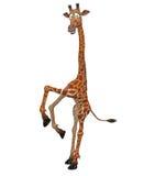 giraffe toon иллюстрация вектора
