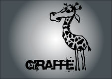 Giraffe vector Royalty Free Stock Photos