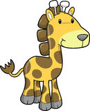 Giraffe Vector Illustration Stock Photography