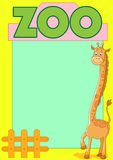 Giraffe zoo Royalty Free Stock Photo