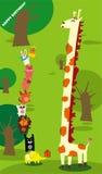 Giraffegeburtstag Stockfotografie
