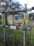 Giraffen-Zeichen Lizenzfreie Stockbilder