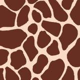Giraffenhautmuster Stockbild