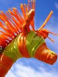 Artistic giraffe head Stock Image